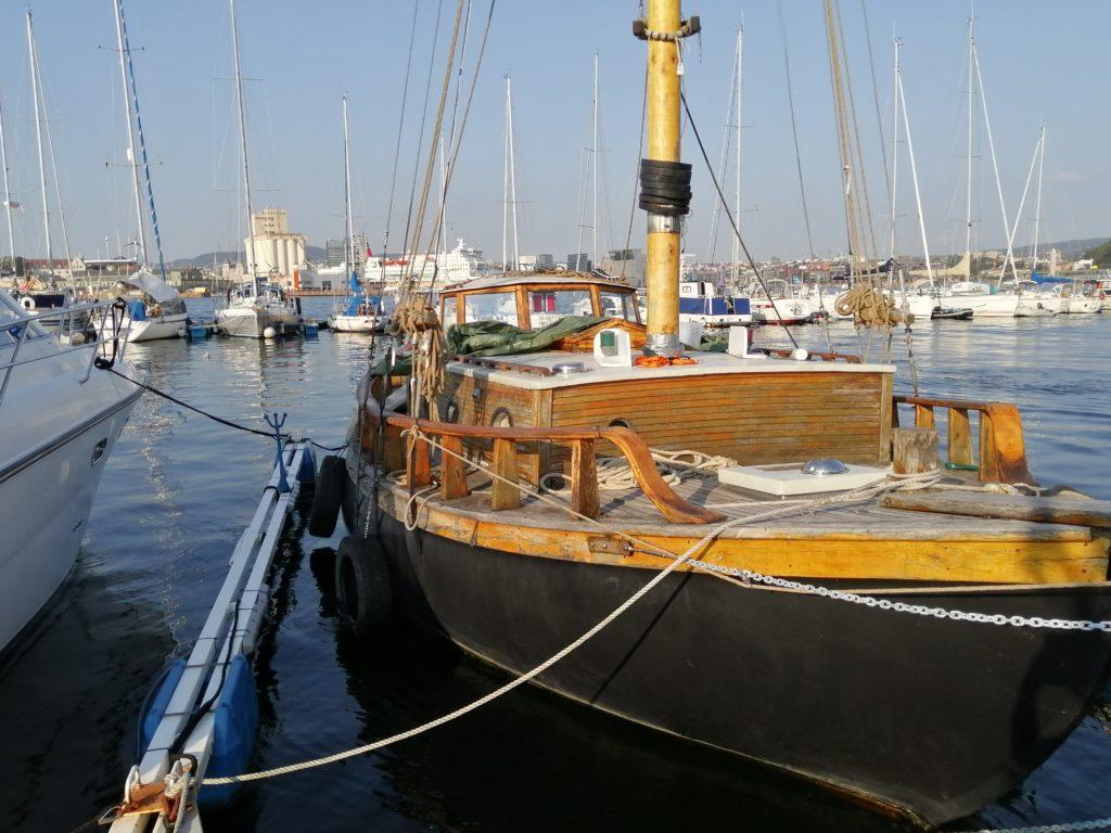 Illustrasjonsfoto båten